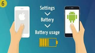 Top 10 Ways to save mobile battery life || Battery drain problem||