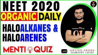 Haloalkanes Haloarenes Class 12 | NEET Chemistry MCQ | Organic Chemistry | NEET 2020 | Arvind Arora