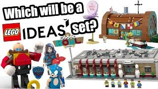 Okay, which will be the next LEGO Ideas sets?
