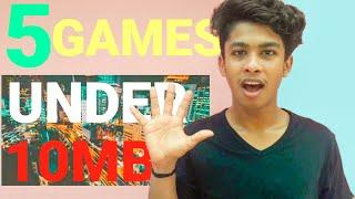 10 MB GAMES | 100 GAMES IN 1 GAME | TOP 5 GAMES | 5 അടിപൊളി ഗെയിംസ് |PLAYSTORE GAMES | KL40 DUDE |