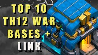 TH12 War Base With Link [Top10] in Clash of Clans