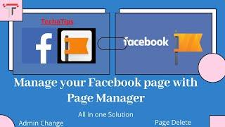 How to Use Facebook Pages Manager-Complete Guide Bangla | Admin change | Page Delete | Manage Pages