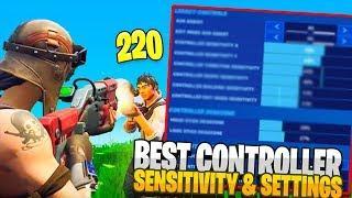 BEST Fortnite Controller Settings + Sensitivity! (Chapter 2 Season 2 - Fortnite PS4 + Xbox)