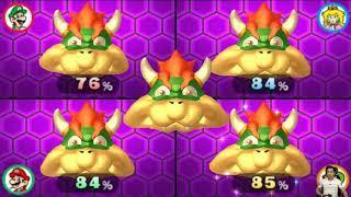 Mario Party The Top 100 Minigames Mario vs Luigi vs Yoshi vs Peach   MARIO CRAZY