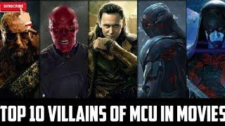Top 10 Villains Of MCU In Movies [ Hindi Explained ]