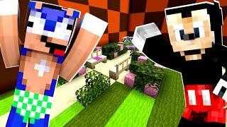 Minecraft Sonic The Hedgehog - Baby Sonic Meets Mickey Mouse! [95]