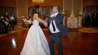 Most Incredible and Amazing Father-Daughter dance ever! Bride does swing dance at wedding!
