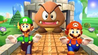 Mario Party The Top 100 MiniGames - Mario Vs Luigi Vs Waluigi Vs Peach (Master Cpu)