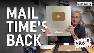 James May unboxes our 1 million subscriber YouTube plaque! | Mail Time Ep.6