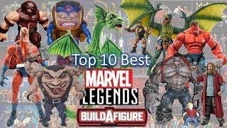 Top 10  Best BAF Marvel Legends All -- Toybiz and Hasbro and MCU and Comics