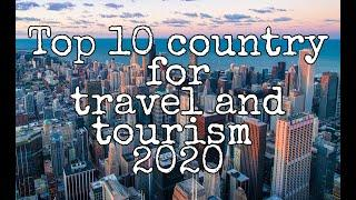 Top 10 country for travel and tourism 2020