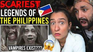 10 INSANE FILIPINO Urban Legends that will BLOW your MIND! - Reaction