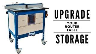 How to IMPROVE your ROUTER TABLE Storage | FREE PLANS