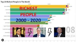 Top 10 Richest People Of The World From 2000 - 2020