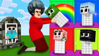 Monster School : Baby Zombie and Baby Herobrine escape Scary Teacher - Funny Minecraft Animation