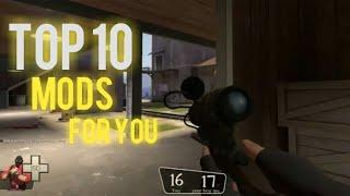 2020 Top 10 Team fortress 2 Mods For You!