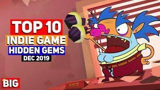 Top 10 Indie Game Hidden Gems – December 2019 | PuPaiPo Space Deluxe & more!