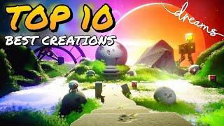 TOP 10 BEST COMMUNITY CREATIONS TO PLAY! - DREAMS PS4
