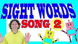 Sight Words Song 2 | Learn 10 Words | Dream English Kids