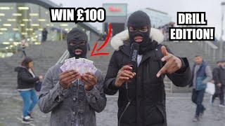 Rap Any Drill Song Word For Word To Win £100 (Roadman Edition) Part 4