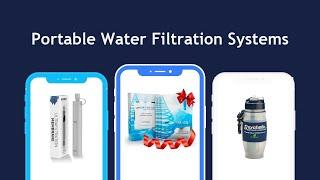 Top 5 Best portable water filtration systems in 2020 - The Best For The Money