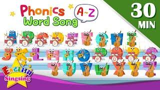 English Phonics word song   Learn English for Kids   Collection of Kindergarten Songs