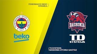 Fenerbahce Beko Istanbul - TD Systems Baskonia Vitoria-Gasteiz Highlights |EuroLeague RS Round 19