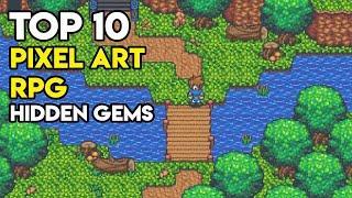Top 10 Pixel Art RPG Indie Games - Hidden Gems on Steam (Part 4)