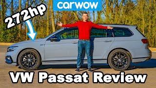 The 'budget' Audi RS4: new VW Passat R-Line REVIEW.