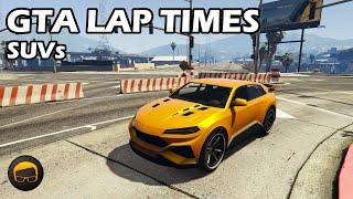 Fastest SUVs (2020) - GTA 5 Best Fully Upgraded Cars Lap Time Countdown