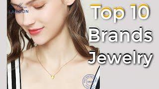 Top 10 Latest brands Jewelry in the Market || Newest Gold Ring,Necklace,Earrings Jewelry Set,pendant