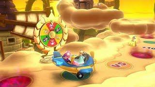 Mario Party 10 Mario Party #299 Rosalina vs Toadette vs Waluigi vs Peach Airship Central Master