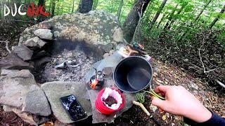 morning coffee ritual and peace - Moto Camping Club Head Quarters Pt.4 v1158