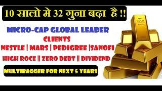3200% RETURN IN LAST 10 YEAR BY THIS MICRO CAP || HIGH ROCE || HIGH ROE || DIVIDEND