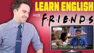 Learn Real English with Friends | Ross becomes a father! Learn English Pronunciation & Expressions!