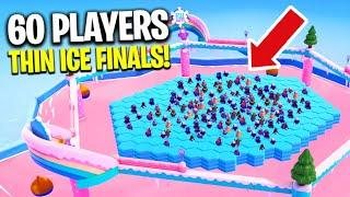 *NEW* 60 PLAYERS THIN ICE! - Fall Guys Season 3 Funny Daily Moments & WTF Highlights #118