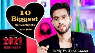 My YouTube Career Top 10 Biggest Achievement in the Year 2020 - Let's Talk