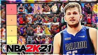RANKING THE BEST POINT GUARDS IN NBA 2K21 MyTEAM!! (Tier List)