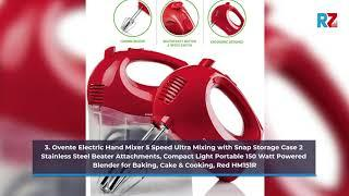 Best Hand Mixer | Top 10 Hand Mixer for 2020-21 | Top Rated Hand Mixer