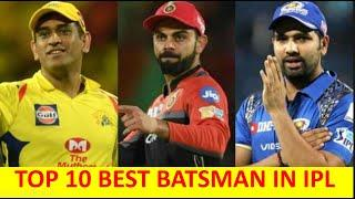 IPL TOP 10 BATSMAN | TOP 10 HIGH SCORER IN IPL HISTORY | Ranking the Top 10 Players in IPL |ALL TIME