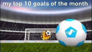 My top 10 goals of November