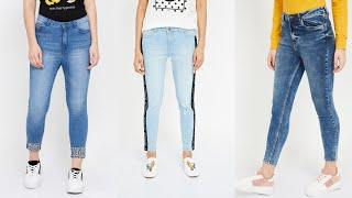 types of jeans every girl should have|best jeans top designs for girls|stylish jeans designs
