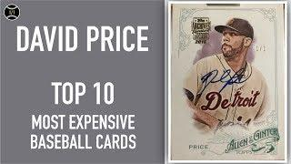 David Price: Top 10 Most Expensive Baseball Cards Sold on EBay (November - January 2020)