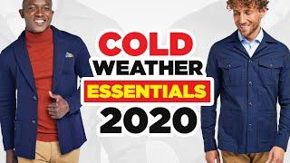 10 Cold Weather Wardrobe Essentials Every Man Needs To Own (2020)