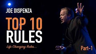 Dr Joe Dispenza (2020) - Top 10 Rules to change your life ! Part -1 (Must Listen)