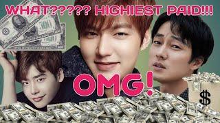 TOP 10 HIGHEST PAID KOREAN ACTOR 2020