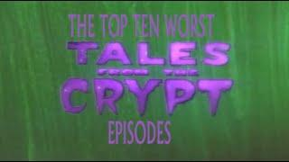 Top 10 Worst Tales From The Crypt Episodes- #2.5-King Of The Road