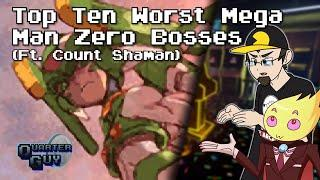 Top Ten Worst Mega Man Zero Bosses - The Quarter Guy (Ft. Count Shaman)