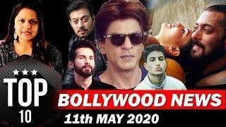 Top 10 Bollywood News  11th May   Salman Khan, Shahrukkh Khan, Shahid Kapoor