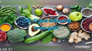 Top 10 best foods to boost immune system